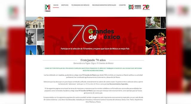 Cnop, 70 Grandes De México